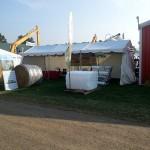 Woodstock Outdoor Show Tama Vanada booth