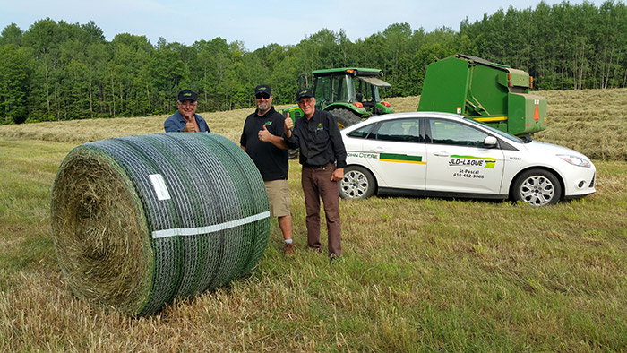 BWRAP covered bale