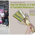 TamaNet Netwrap prize
